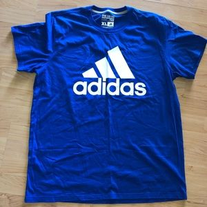 Adidas blue XL T SHIRT